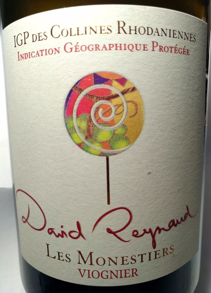 Viognier Les Monestiers 2020, Domaine David Reynaud naturedevin.com