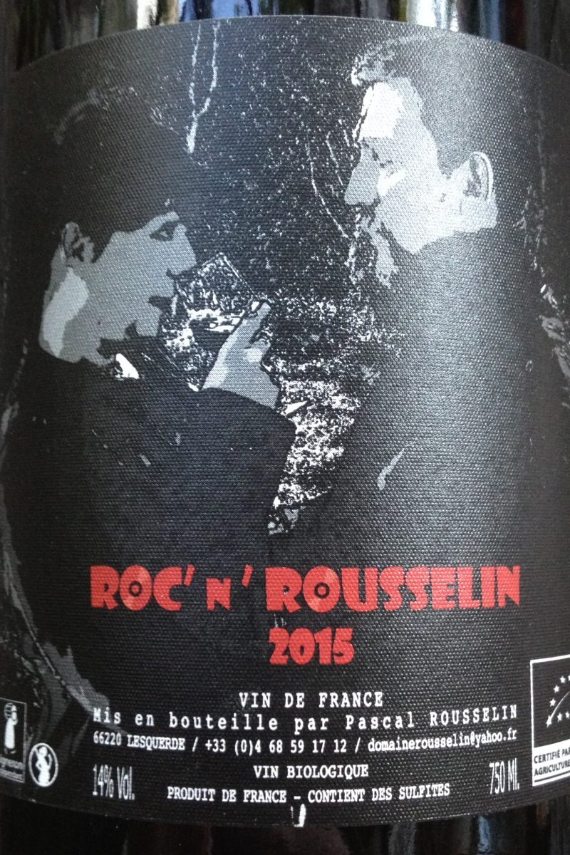 Domaine Rousselin, Roc' N Rousselin 2015 naturedevin