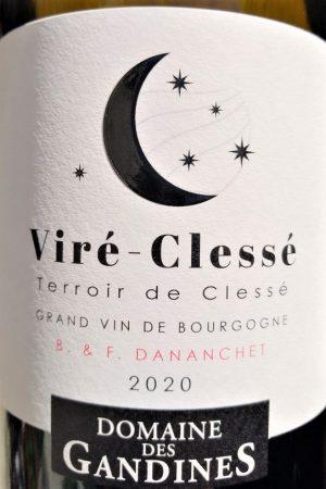 Viré-Clessé Terroir de Clessé 2020, Domaine des Gandines naturedevin.com