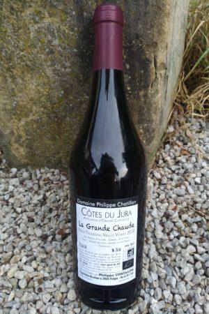Pinot noir Vieilles Vignes 2018 La Grande Chaude, Domaine Chatillon naturedevin.com