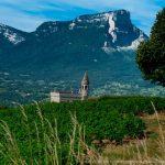 Les vignes de Chignin en Savoie naturedevin.com vin bio