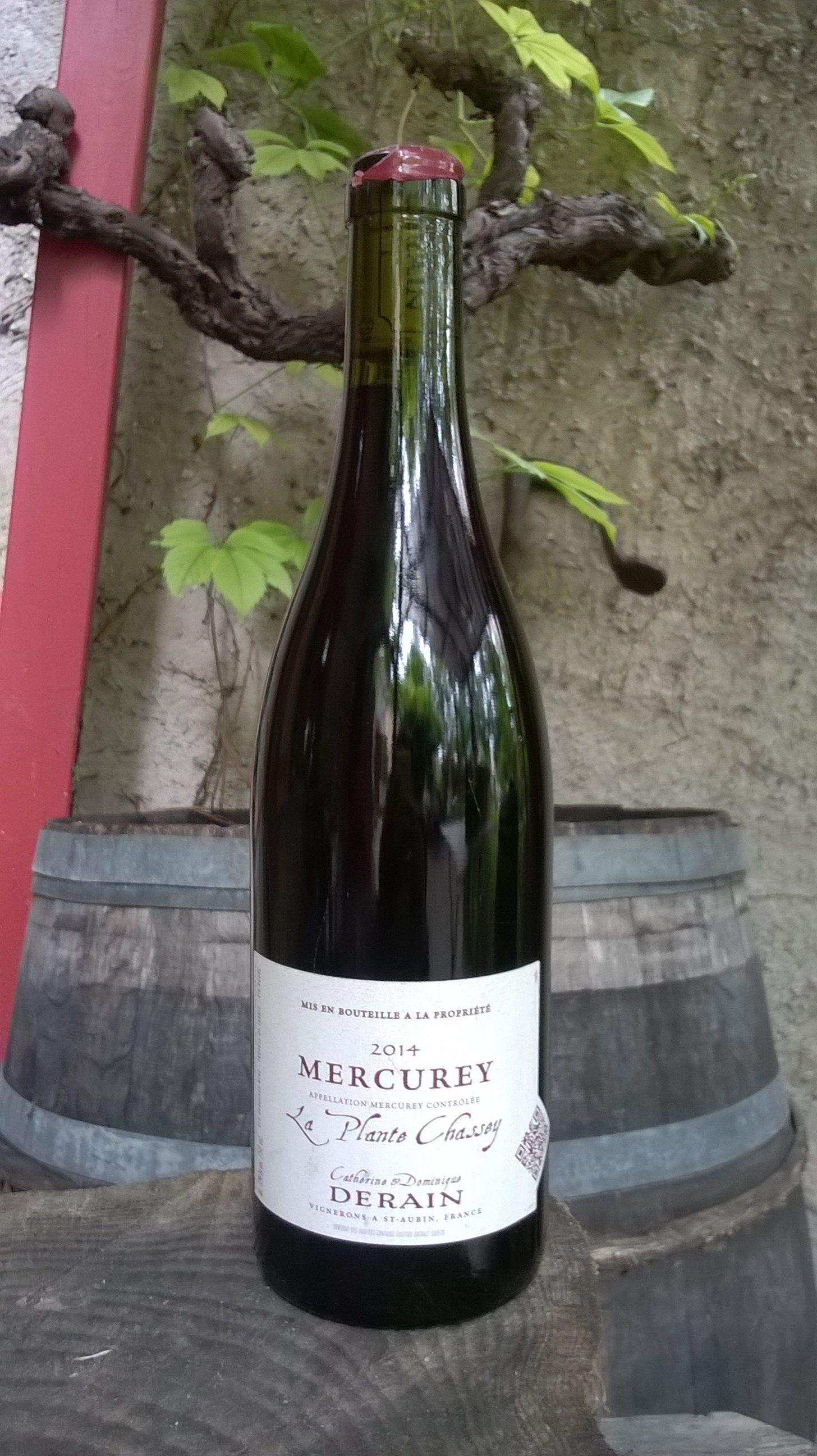 Mercurey la plante chassey 2014 domaine derain nature for Salon vin grenoble