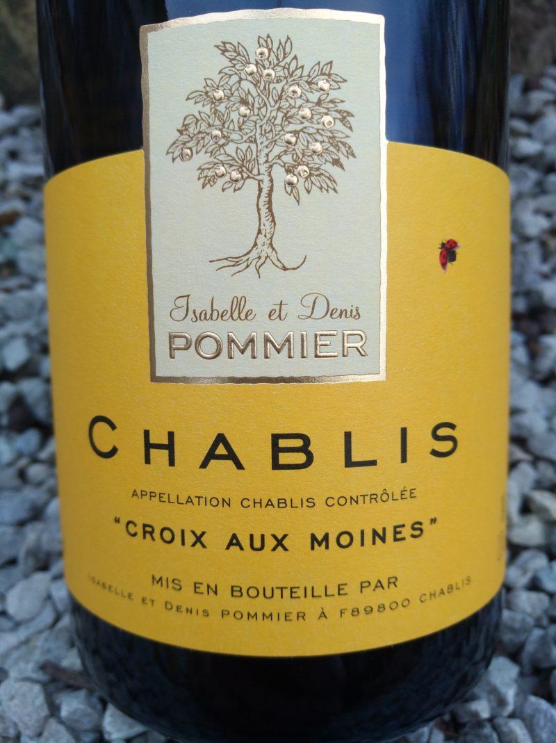 Chablis Croix aux Moines 2016, Domaine Pommier naturedevin.com