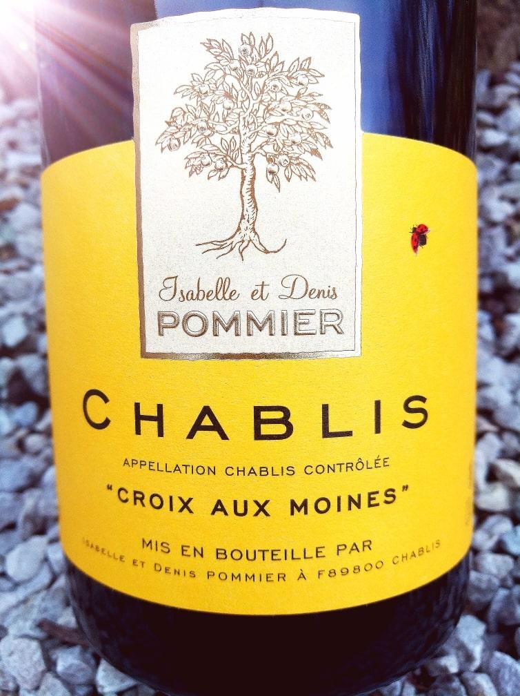 Chablis Croix aux Moines 2018, Domaine Pommier naturedevin.com
