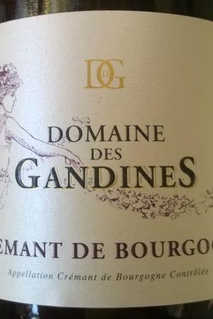 Crémant de bourgogne, Domaine des Gandines naturedevin.com