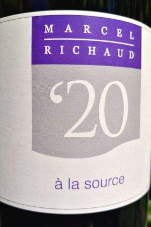 A la Source 2020, Domaine Richaud naturedevin.com