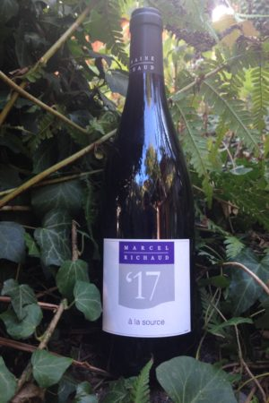 Vin de France 2017 A la source, Domaine Marcel Richaud naturedevin.com