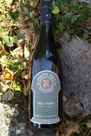 Maréotis 2014, Domaine Viret naturedevin.com