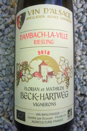 Riesling Dambach 2018, Domaine Beck-Hartweg naturedevin.com