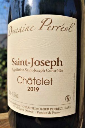 Saint-Joseph Châtelet 2019, Domaine Monier Perréol naturedevin.com