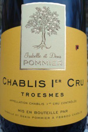Chablis 1er Cru Troesmes 2015, Domaine Pommier naturedevin.com