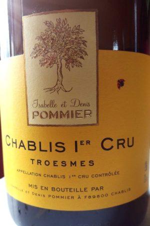 Chablis 1er Cru Troesmes 2018, Domaine Pommier naturedevin.com