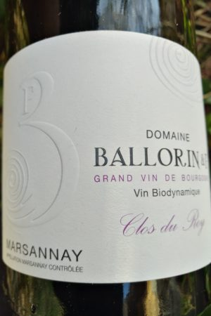 Marsannay Clos du Roy 2017, Domaine Ballorin et F naturedevin.com