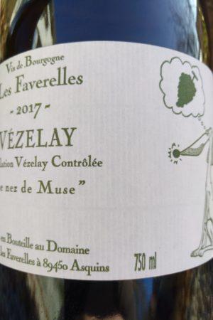 Le nez de Muse 2017, Domaine Les Faverelles naturedevin.com