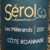 Les Millerands 2017, Domaine Sérol naturedevin.com