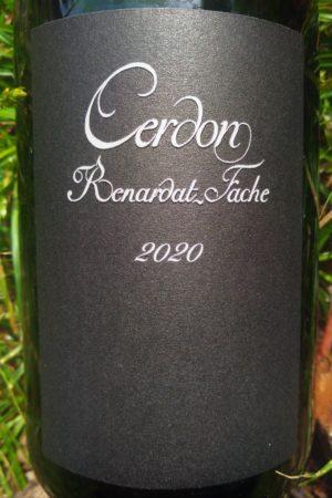 Cerdon 2020 Méthode Ancestrale, Domaine Renardat-Fache naturedevin.com