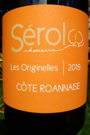 Les Originelles 2019, Domaine Sérol naturedevin.com