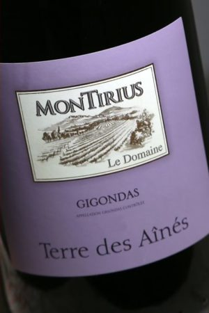 Gigondas Terre des Aînés 2016, domaine Montirius naturedevin.com