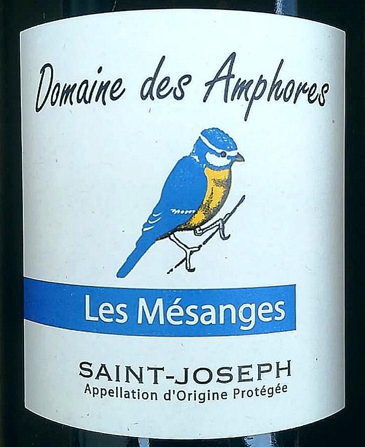Saint-Joseph Les Mésanges 2018, Domaine des Amphores naturedevin.com