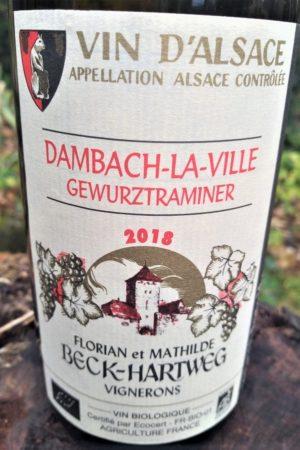Gewurztraminer Dambach 2018, Domaine Beck-Hartweg naturedevin.com
