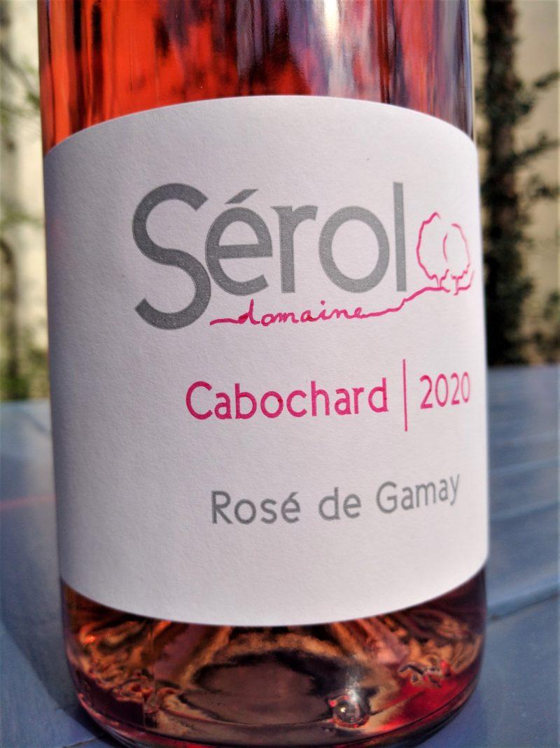 Rosé Cabochard 2020, Domaine Sérol naturedevin.com