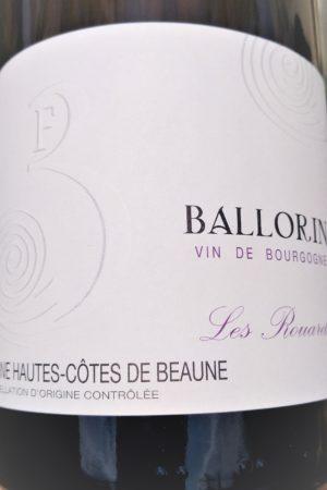 Haute Côte de Beaune Les Renards 2019, Domaine Ballorin et F naturedevin.com